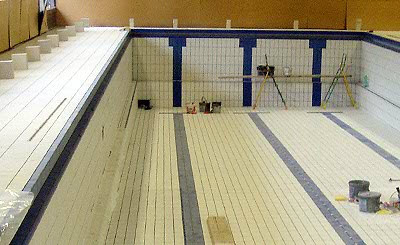 Grisoni carrelages galerie for Piscine miroir avec bac tampon